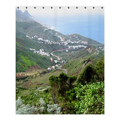 Tenerife 10 Shower Curtain 60  X 72  (medium)