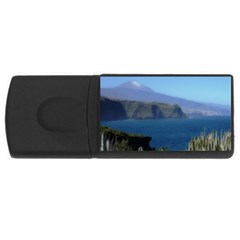 Panted Landscape Tenerife USB Flash Drive Rectangular (2 GB)