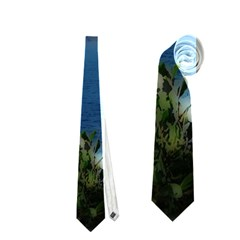 Panted Landscape Tenerife Neckties (One Side)