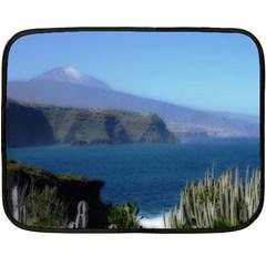 Panted Landscape Tenerife Double Sided Fleece Blanket (Mini)