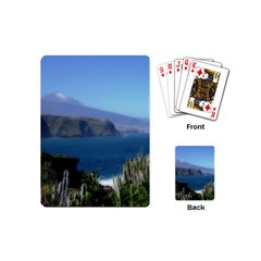 Panted Landscape Tenerife Playing Cards (Mini)