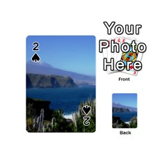 Panted Landscape Tenerife Playing Cards 54 (Mini)