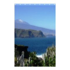 Panted Landscape Tenerife Shower Curtain 48  x 72  (Small)
