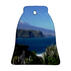 Panted Landscape Tenerife Ornament (bell)