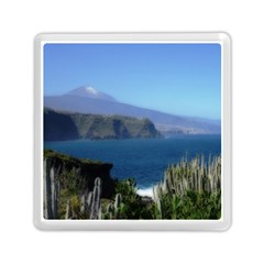 Panted Landscape Tenerife Memory Card Reader (Square)