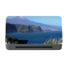 Panted Landscape Tenerife Memory Card Reader with CF