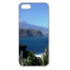 Panted Landscape Tenerife Apple Seamless iPhone 5 Case (Clear)