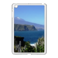Panted Landscape Tenerife Apple iPad Mini Case (White)