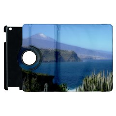 Panted Landscape Tenerife Apple iPad 3/4 Flip 360 Case
