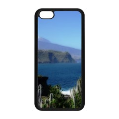Panted Landscape Tenerife Apple iPhone 5C Seamless Case (Black)