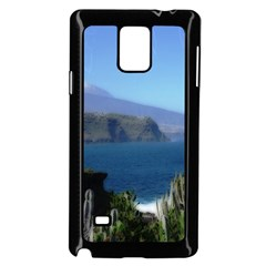 Panted Landscape Tenerife Samsung Galaxy Note 4 Case (Black)