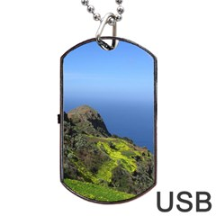 Tenerife 09 Dog Tag USB Flash (One Side)