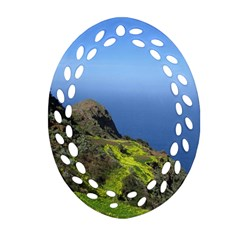 Tenerife 09 Oval Filigree Ornament (2-Side)