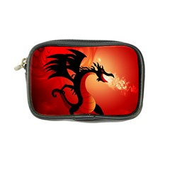 Funny, Cute Dragon With Fire Coin Purse