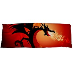 Funny, Cute Dragon With Fire Body Pillow Cases (dakimakura)