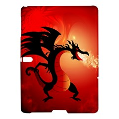 Funny, Cute Dragon With Fire Samsung Galaxy Tab S (10 5 ) Hardshell Case