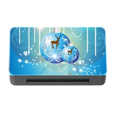 Wonderful Christmas Ball With Reindeer And Snowflakes Memory Card Reader with CF