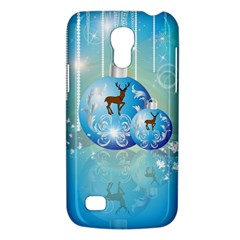 Wonderful Christmas Ball With Reindeer And Snowflakes Galaxy S4 Mini