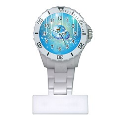 Wonderful Christmas Ball With Reindeer And Snowflakes Nurses Watches