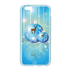 Wonderful Christmas Ball With Reindeer And Snowflakes Apple Seamless iPhone 6/6S Case (Color)