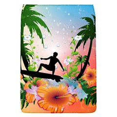 Tropical Design With Surfboarder Flap Covers (S)