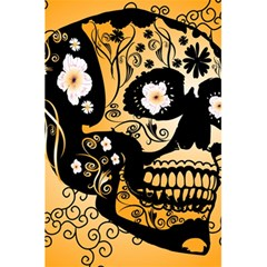 Sugar Skull In Black And Yellow 5 5  X 8 5  Notebooks