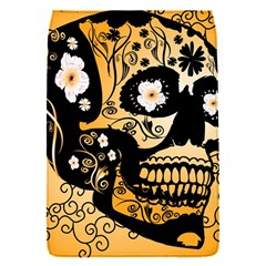 Sugar Skull In Black And Yellow Flap Covers (S)