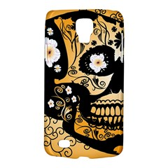 Sugar Skull In Black And Yellow Galaxy S4 Active