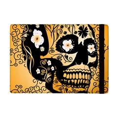 Sugar Skull In Black And Yellow iPad Mini 2 Flip Cases