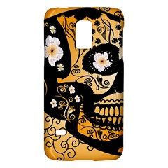 Sugar Skull In Black And Yellow Galaxy S5 Mini
