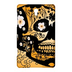 Sugar Skull In Black And Yellow Samsung Galaxy Tab S (8.4 ) Hardshell Case