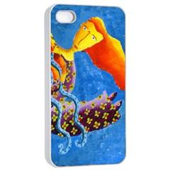 Aquarius  Apple iPhone 4/4s Seamless Case (White)