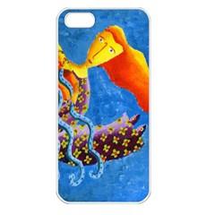 Aquarius  Apple iPhone 5 Seamless Case (White)