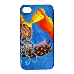 Aquarius  Apple iPhone 4/4S Hardshell Case with Stand