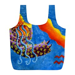 Aquarius  Full Print Recycle Bags (L)