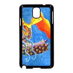 Aquarius  Samsung Galaxy Note 3 Neo Hardshell Case (Black)