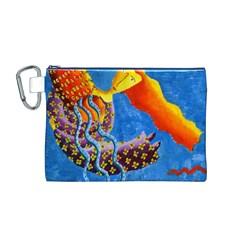 Aquarius  Canvas Cosmetic Bag (M)