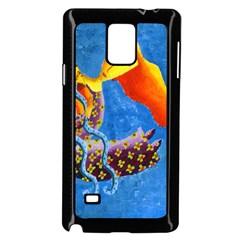 Aquarius  Samsung Galaxy Note 4 Case (Black)