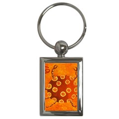 Cancer Zodiac Sign Key Chains (Rectangle)