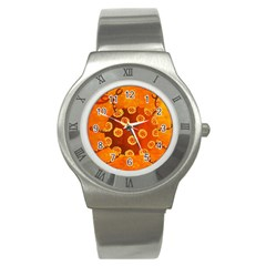 Cancer Zodiac Sign Stainless Steel Watches