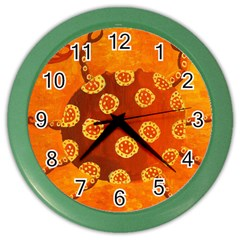 Cancer Zodiac Sign Color Wall Clocks