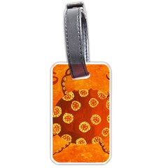 Cancer Zodiac Sign Luggage Tags (One Side)