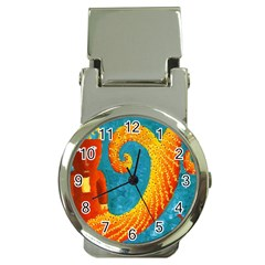 Capricorn Zodiac Sign Money Clip Watches