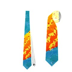 Capricorn Zodiac Sign Neckties (Two Side)