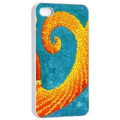 Capricorn Zodiac Sign Apple iPhone 4/4s Seamless Case (White)