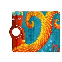 Capricorn Zodiac Sign Kindle Fire HDX 8.9  Flip 360 Case