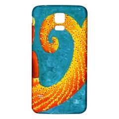 Capricorn Zodiac Sign Samsung Galaxy S5 Back Case (White)