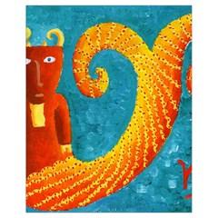 Capricorn Zodiac Sign Drawstring Bag (Small)