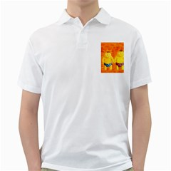 Gemini Zodiac Sign Golf Shirts