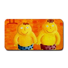 Gemini Zodiac Sign Medium Bar Mats